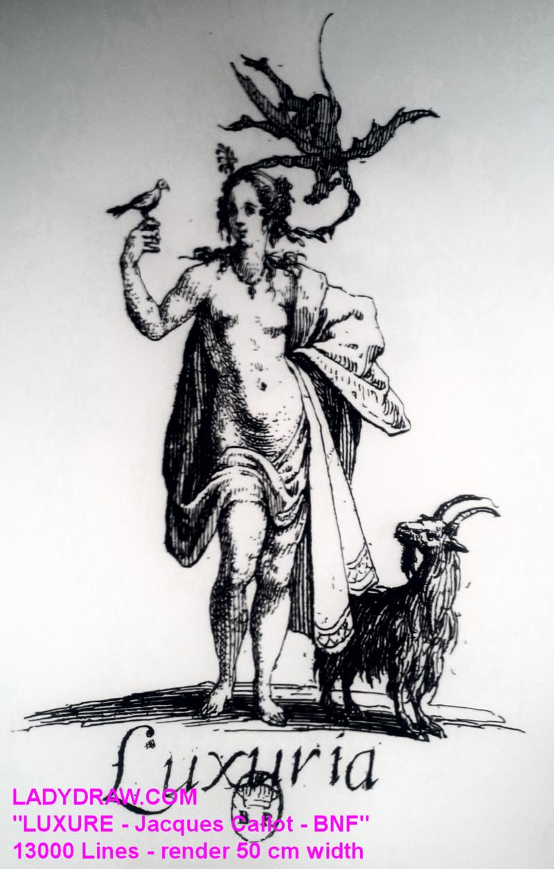 "[RENDER] ""Luxure -Jacques Callot – Source BNF"" – 50 cm"