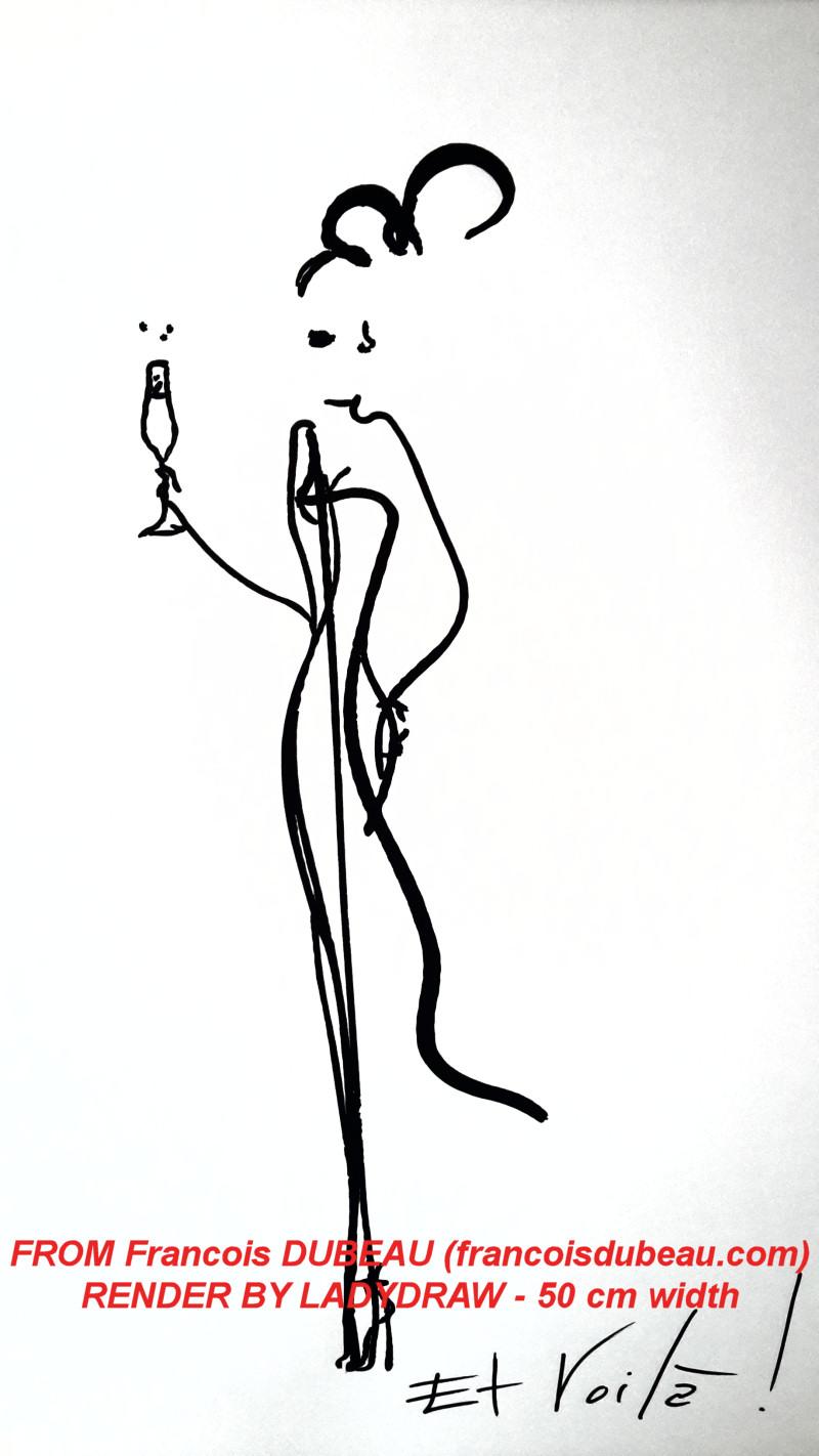 [RENDER] Francois Dubeau – 600 lines – 50 cm width (A2)